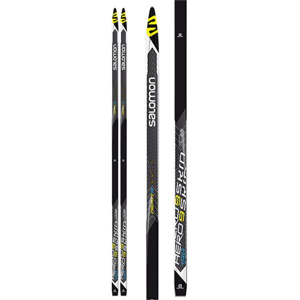 Salomon Aero 9 Skin Soft/Medium XC Skis