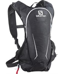 Salomon Agile 7 Set Hydration Pack Black/Iron/White 18oz