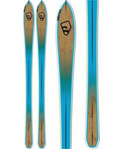 Salomon Bbr 8.0 Skis Brown/Blue