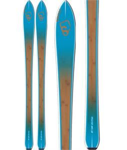 Salomon BBR 7.9 Skis Blue/Brown