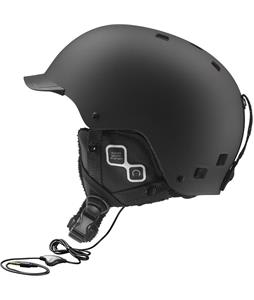Salomon Brigade Audio Ski Helmet Black Matte
