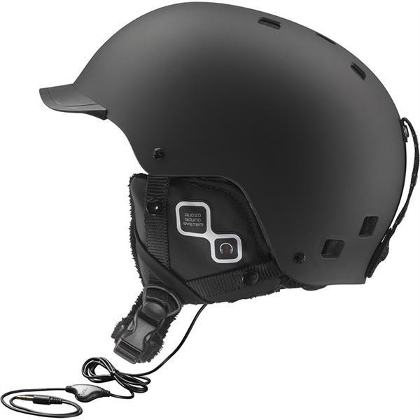 Salomon Brigade Audio Ski Helmet