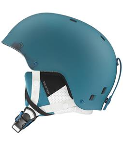 Salomon Brigade Ski Helmet Blue Matte