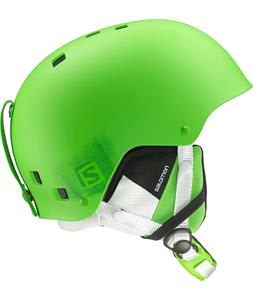 Salomon Brigade Ski Helmet Green Matte