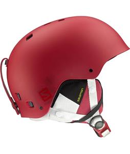 Salomon Brigade Ski Helmet Red Matte