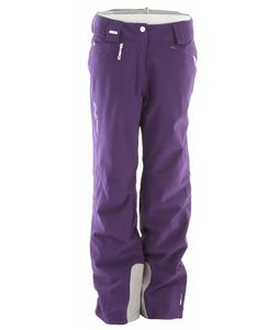 Salomon Brilliant Ski Pants Eggplant