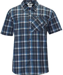 Salomon Checks Shirt Bright Blue/Deep Blue/White
