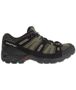 Salomon Cherokee Hiking Shoes Dark Khaki/Iguana Green/Nile Green