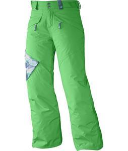 Salomon Chillout Jr Ski Pants Bud Green