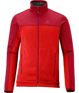 Salomon Cruz Fleece Victory Red/Matador-X
