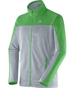Salomon Cruz FZ 2 Fleece Shadow Grey/Bud Green