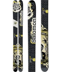 Salomon Czar Skis Black/Green