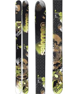 Salomon Czar Skis Black/Green/Brown