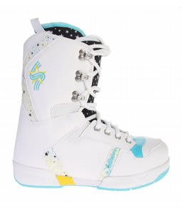 Salomon Dawn Snowboard Boots White/Black