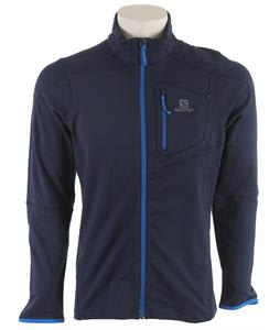 Salomon Discovery FZ Midlayer Fleece Big Blue-X