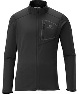 Salomon Discovery FZ Midlayer Fleece Black