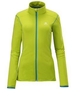 Salomon Discovery Fz Midlayer Top Organic Green