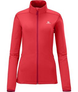 Salomon Discovery Fz Midlayer Top Papaya-B
