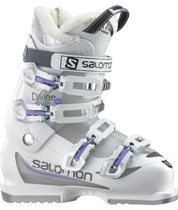 Salomon Divine 55 Ski Boots White/Cry Translucent