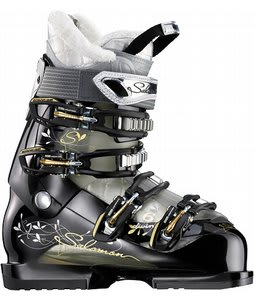 Salomon Divine 6 Ski Boots Black/Crystal Starlight