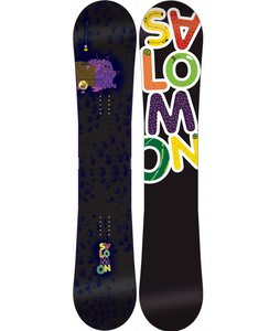 Salomon Drift Rocker Snowboard Black 154
