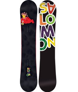 Salomon Drift Rocker Snowboard Black 156