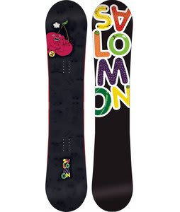 Salomon Drift Rocker Wide Snowboard Black 154