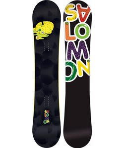 Salomon Drift Rocker Wide Snowboard Black 158