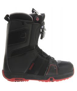 Salomon Echelon Snowboard Boots Black/Rubis-X