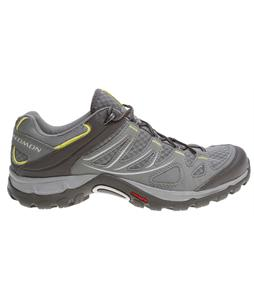 Salomon Ellipse Aero Hiking Shoes Titanium/Dark Titanium/Fizz