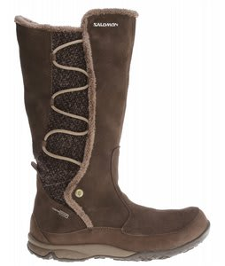 Salomon Emmy WP Boots Absolute Brown-X/Burro/Eau
