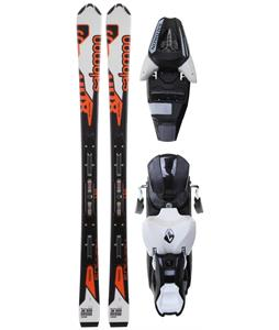 Salomon Enduro Jr Skis w/ L7 Bindings Black/White B80