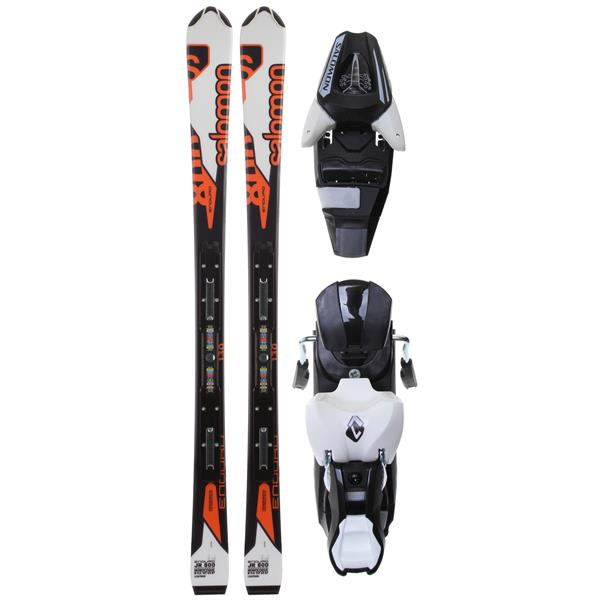 Salomon Enduro Jr Skis w/ L7 Bindings