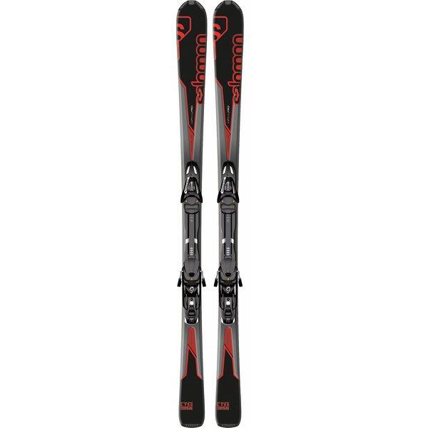 Salomon Enduro L 750 Skis Black/Red w/ L10 Bindings