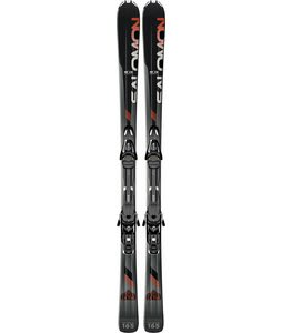 Salomon Enduro LX 730 Skis Black/Red w/ L10 Bindings