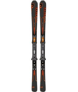 Salomon Enduro Lx 800 Skis Black/Orange w/ Z10 Bindings