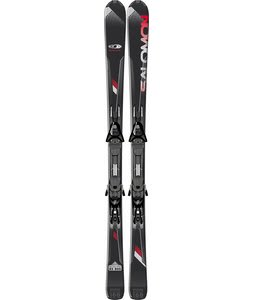 Salomon Enduro RX 800 Skis Black/Red w/ Z12 Bindings