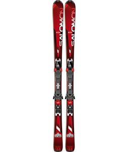 Salomon Enduro LX 800 Skis Red/Black w/ Z12 Bindings