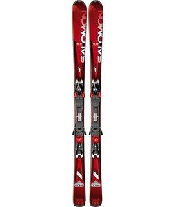Salomon Enduro LX 800 Skis Red/Black w/ Z12 Bindings