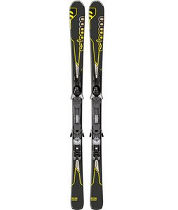 Salomon Enduro Rxt 800 Skis Black/Gray w/ Z12 Bindings