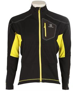 Salomon Equipe Vision XC Ski Jacket Black/Corona Yellow