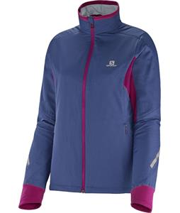 Salomon Escape Cross Country Ski Jacket Abyss Blue/Mystic Purple