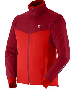 Salomon Escape Cross Country Ski Jacket Matador-X/Dark Cloud