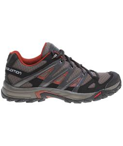 Salomon Eskape Aero Hiking Shoes Swamp/Asphalt/Deep Red
