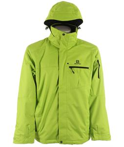 Salomon Express II Ski Jacket Organic Green/Black