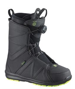 Salomon Faction BOA Snowboard Boots Black/Fluo Yellow