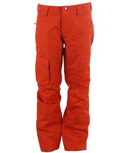 Salomon Fantasy Ski Pants Moab Orange