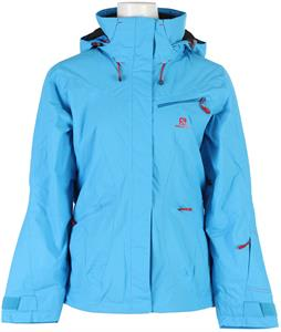 Salomon Fantasy Ski Jacket Blue Line