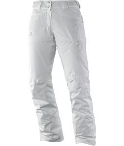 Salomon Fantasy Ski Pants White