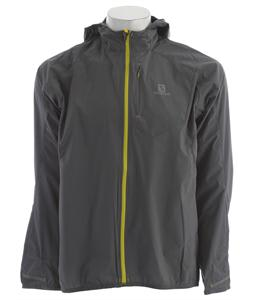 Salomon Fast Wing Hoodie Jacket Dark Cloud